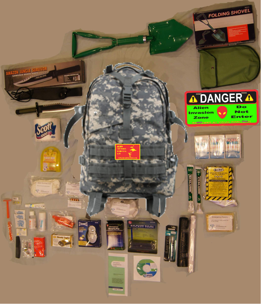 Packing Survival Kits